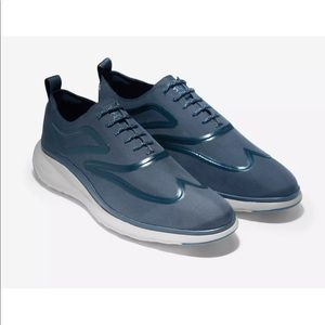Cole Haan 3.ZERØGRAND Fuse Oxford Wing Blueberry